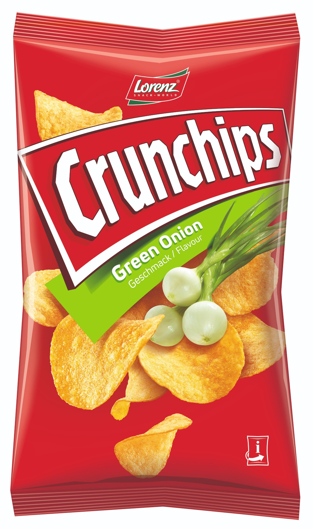 Lorenz Crunchips Green Onion 75g