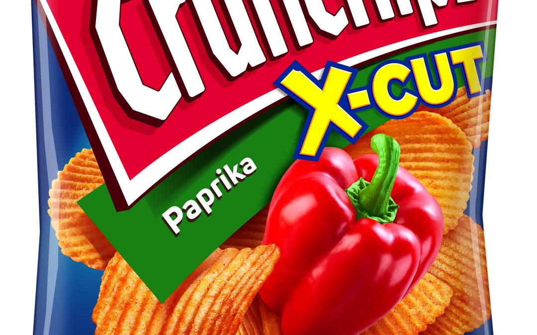 Lorenz Crunchips X-Cut Paprika 75g