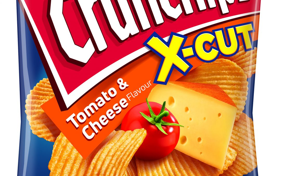 Lorenz X-Cut Tomato & Cheese 75g