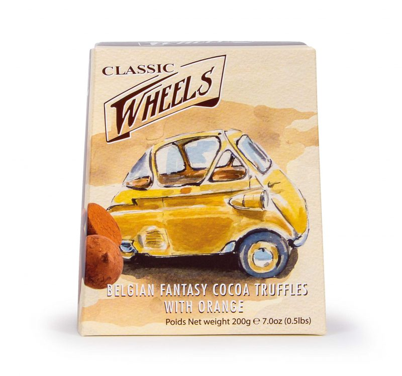 Classic Wheels Truffle Orange 200g