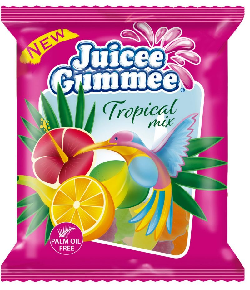 Tropical Mix gumicukor 80g