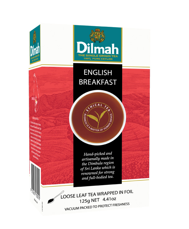 English Breakfast Leaf tea fekete tea 125g