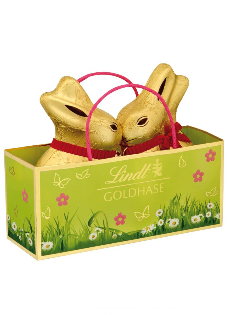 Lindt Gold Bunny Duo 2x50g x 10