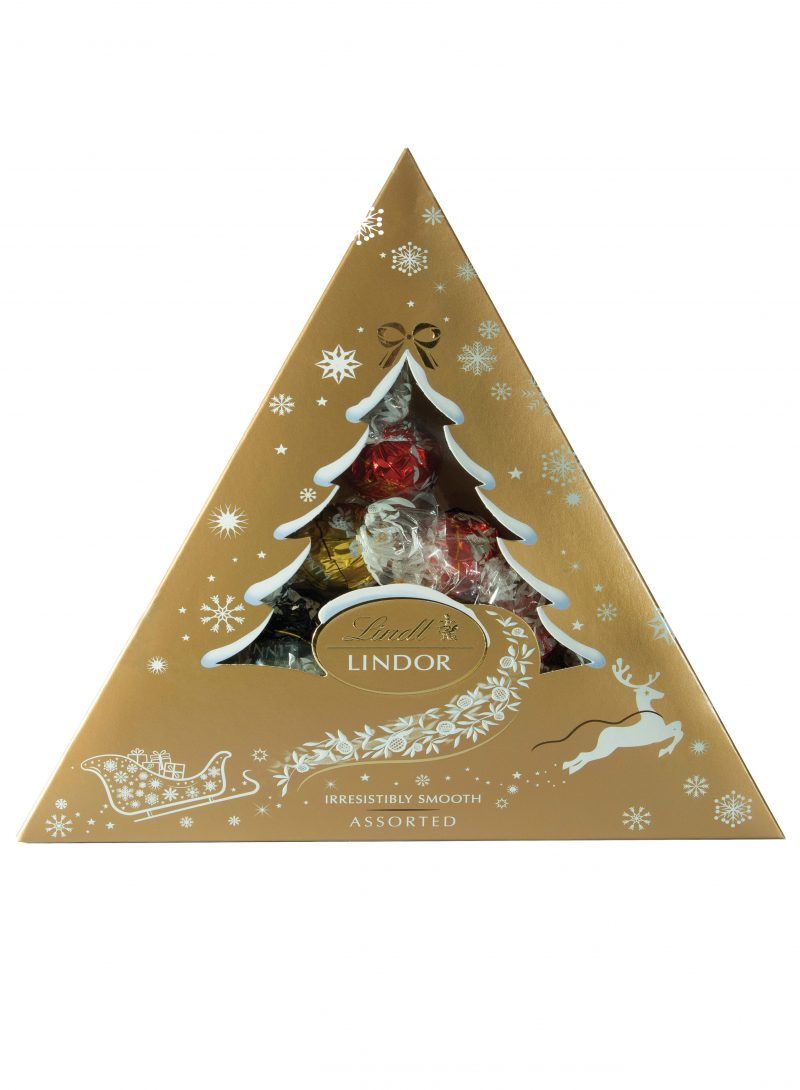 Lindor Xmas Tree Assorted 125g