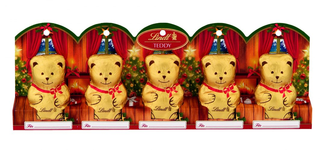 Lindt Bear mini mackó 5x10g