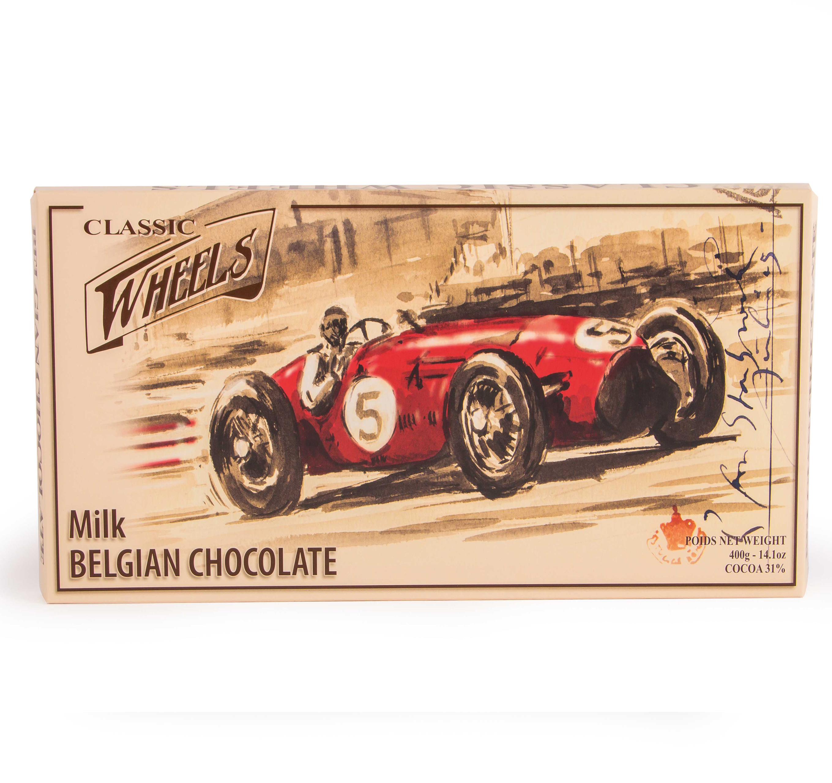 Classic Wheels Giant Milk tejcsokoládé 400g