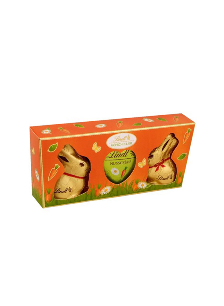 Lindt Gold Bunny Carrot Love Box nyuszi csomag 45g