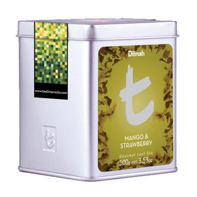 Mango&Strawberry fekete tea 100g