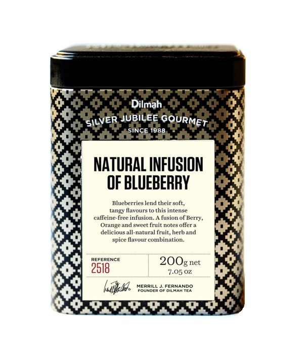 Dilmah Silver Jubilee Gourmet Natural Infusion of Blueberry 200g