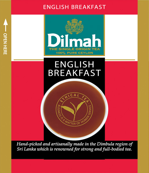 English Breakfast fekete tea
