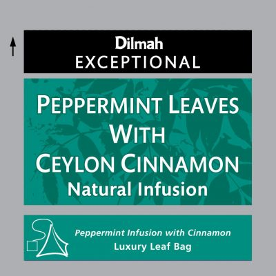 Peppermint Leaves with Ceylon Cinnamon fűszeres herbatea 20x2g