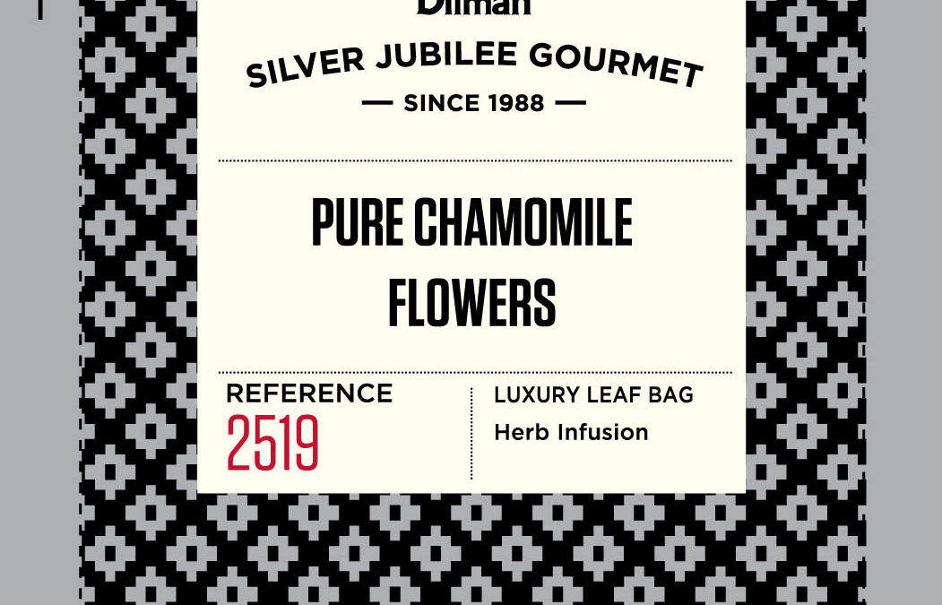 Dilmah Silver Jubilee Gourmet Pure Chamomile Flowers 30x2g