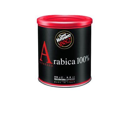 Vergnano 100% Arabica Espresso őrölt kávé fémdobozban 250g