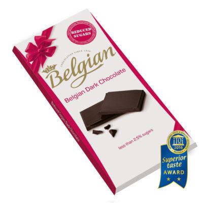 Belgian Dark No Sugar étcsokoládé 100g