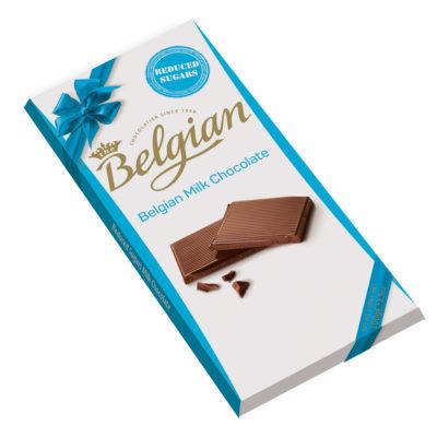 Belgian Mik No Sugar tejcsokoládé 100g