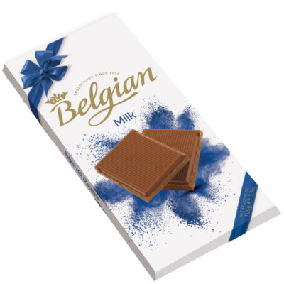 Belgian Milk tejcsokoládé 100g