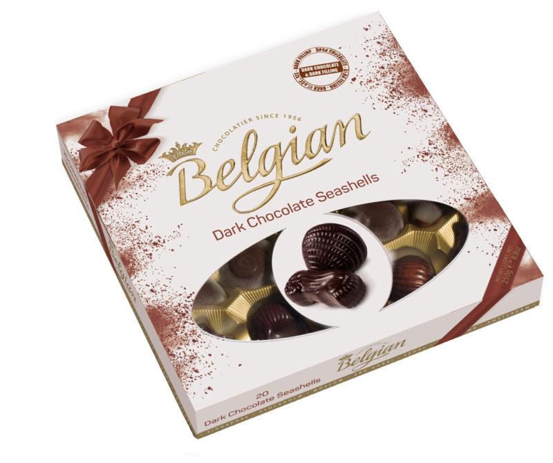 Belgian Seashells Dark tengergyümölcse desszert 250g