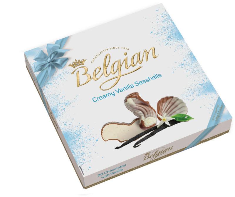 Belgian Seashells Vanilla tengergyümölcse desszert 195g