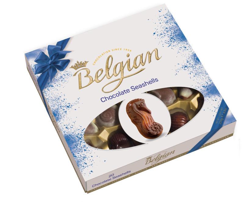 Belgian Seashells tengergyümölcse desszert 250g