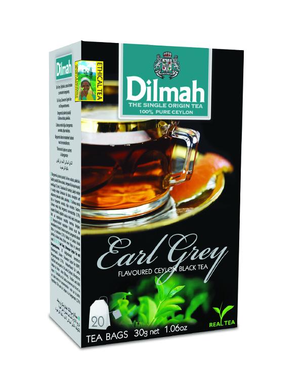 Earl Grey fekete tea begramottal 20×1,5g