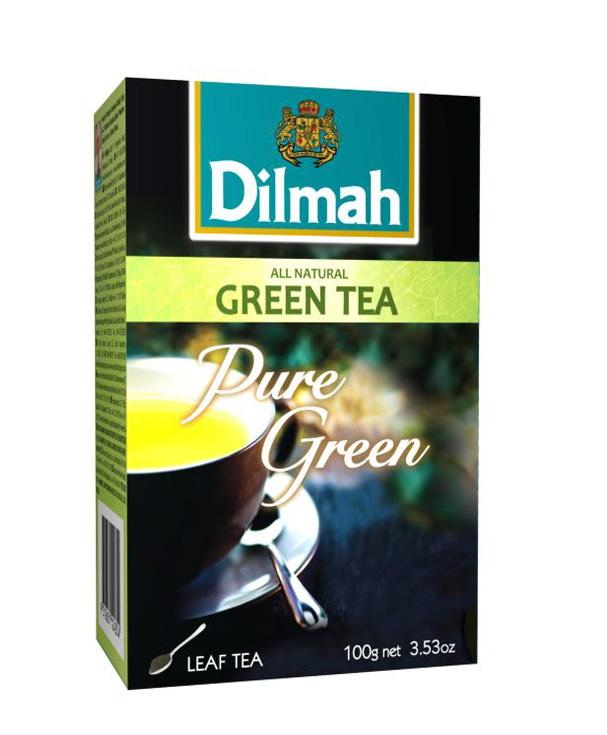 Dilmah Natural Green Leaf tea zöldtea 100g