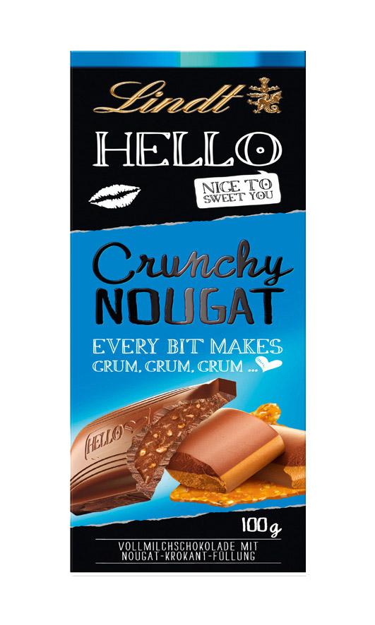 Hello Nougat Crunch 100g