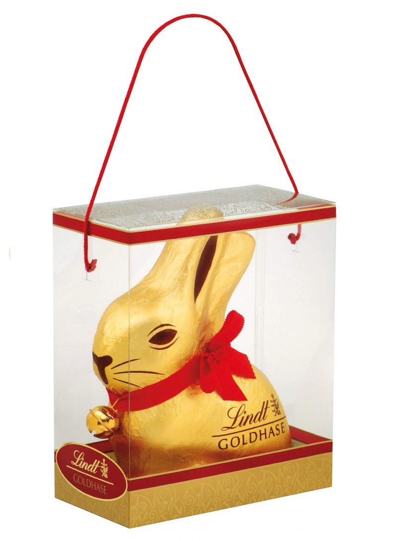 Lindt Gold Bunny arany nyuszi csengővel 1000g x 2