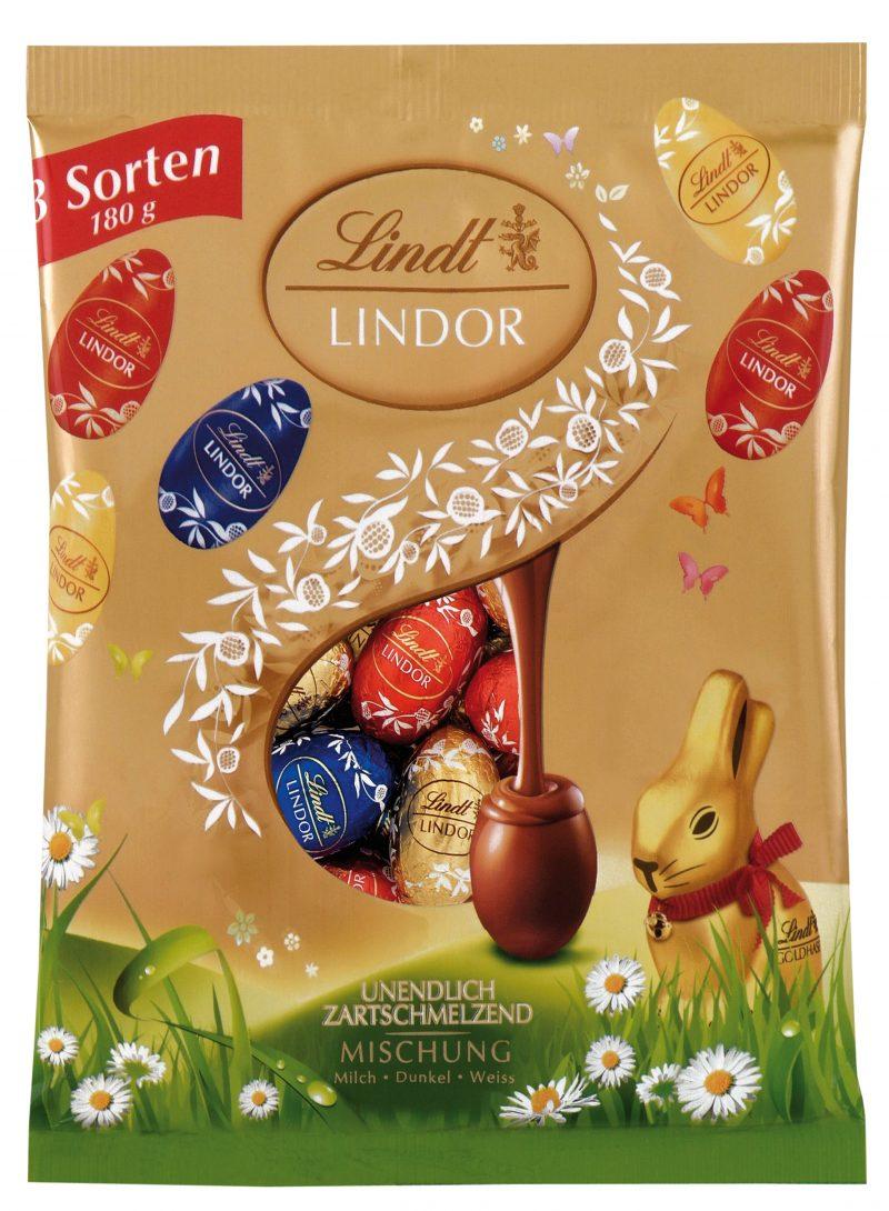 Lindor Assorted Lilliput tojás zacskóban 180g x 20