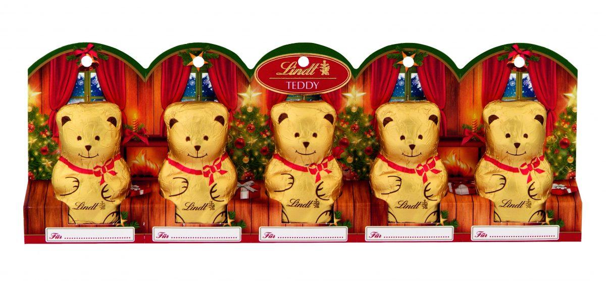 Lindt Bear mini mackó 5x10g
