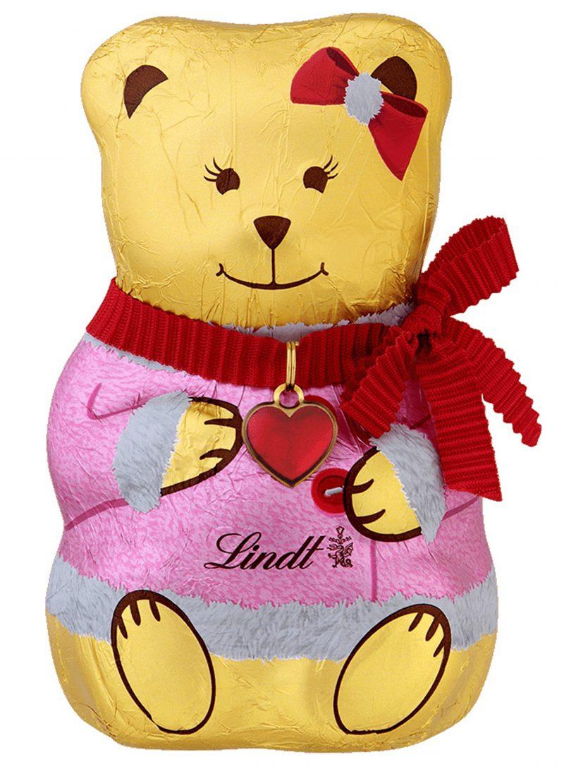 Lindt Bear Girl lány mackó 100g