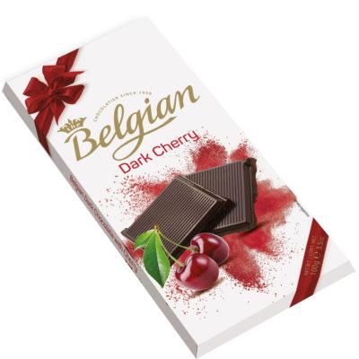 Belgian Dark Cherry étcsokoládé 100g
