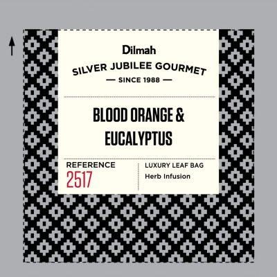 Dilmah Silver Jubilee Gourmet Blood Orange Eucalyptus  40x2g