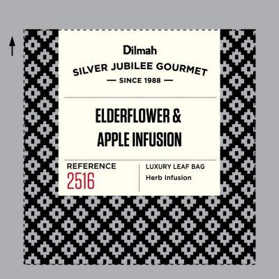 Dilmah Silver Jubilee Gourmet Elderflower Apple Infusion 40x2g