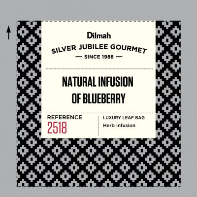 Dilmah Silver Jubilee Gourmet Natural Infusion of Blueberry 40x2g