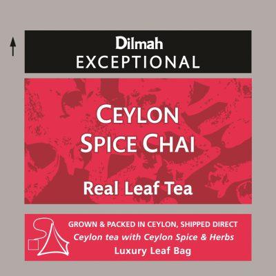 Ceylon Spice Chai fűszeres fekete tea 50x2g