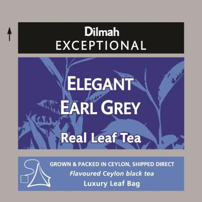 Elegant Early Grey fekete tea 50x2g