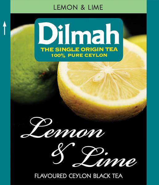 Lemon&Lime citromos fekete tea