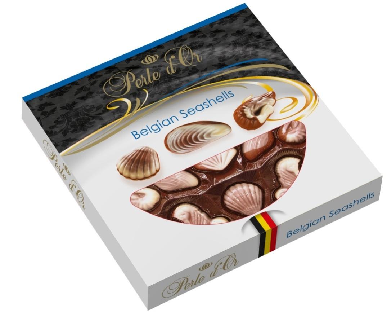 Perle D'Or tengergyümölcse desszert fekete 195g