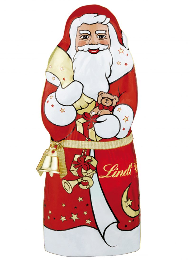 Lindt Santa Claus télapó csengővel 125g