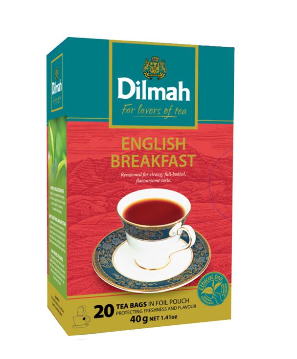 Gourmet English Breakfast fekete tea 20x2g