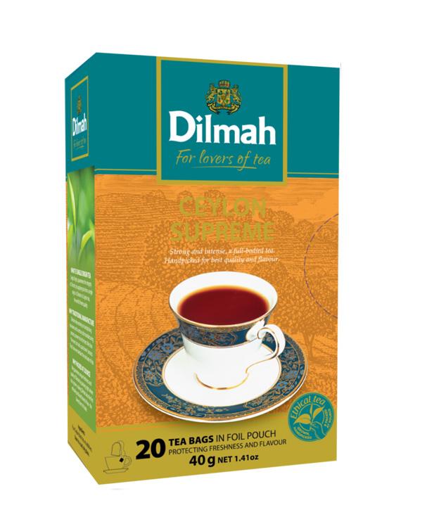 Gourmet Ceylon Supreme fekete tea 20x2g