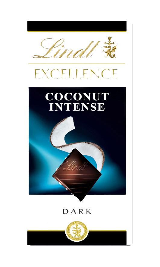 Excellence Coconut Dark kókuszos étcsokoládé 100g