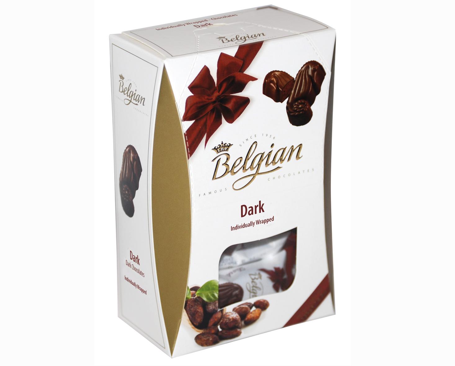 Belgian Seahorses Dark tengergyümölcse desszert 135g
