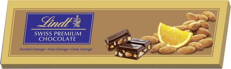 Gold Dark Orange-Almonds étcsokoládé 300g
