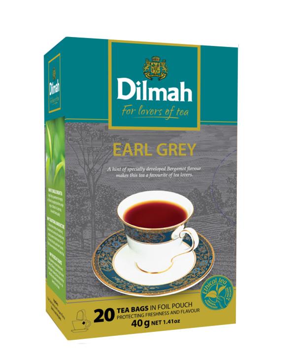 Gourmet Earl Grey fekete tea 20x2g