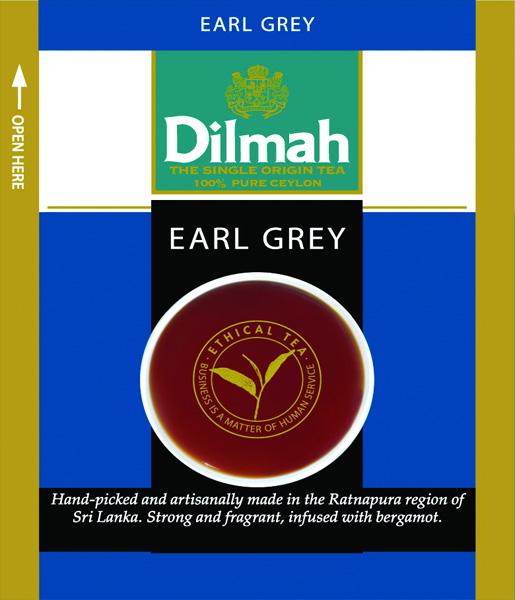 Earl Grey fekete tea bergamottal