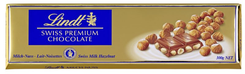 Gold Milch-nuss mogyorós tejcsokoládé 300g