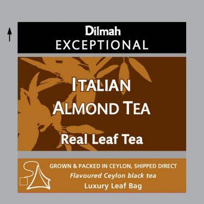 Italian Almond aromás fekete tea 50x2g