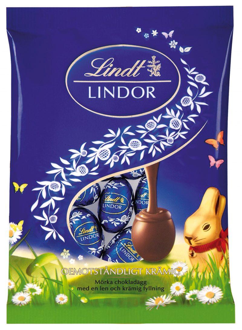 Lindor Dark Lilliput tojás zacskóban 100g x 15