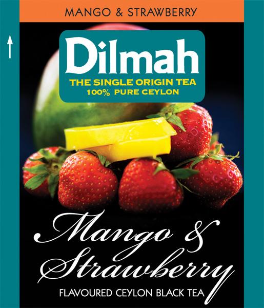 Mango&Strawberry mangós-epres fekete tea